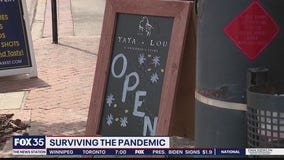 Small businesses adapt to survive pandemic