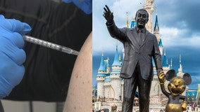 Union: Disney employees to get paid for getting COVID-19 vaccine