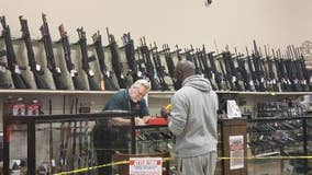 Gun stores expecting surge in sales after calls for tougher gun control