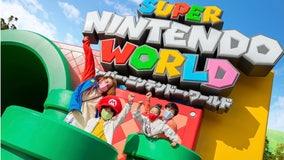 Super Mario World opens at Universal Studios Japan
