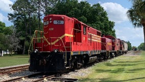 Florida deputies say someone took train for 'joyride,' caused $30K in damage