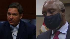 Governor DeSantis not happy with Mayor Demings' decision to lower vaccine eligibility to 40+