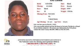 Lake County deputies need help searching for 14-year-old boy missing since March 1