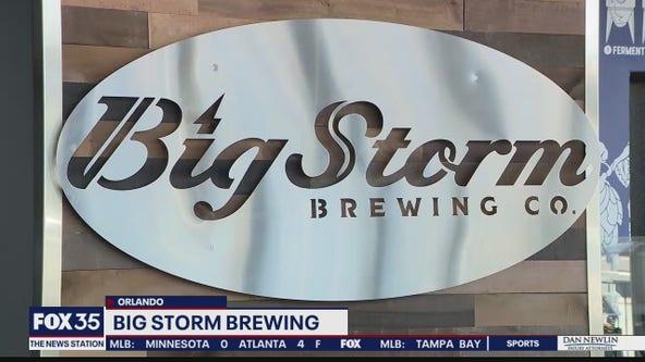 Peek at Big Storm Brewery