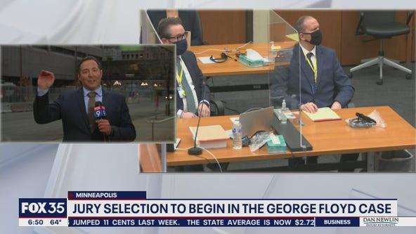 Derek Chauvin trial jury selection delayed