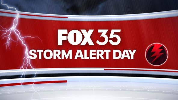 FOX 35 Storm Alert Day: Strong to severe storms possible for Central Florida