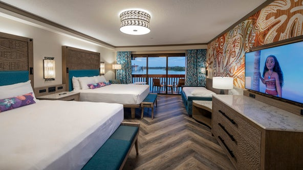 Disney World shares first look at newly-renovated Polynesian Village Resort rooms