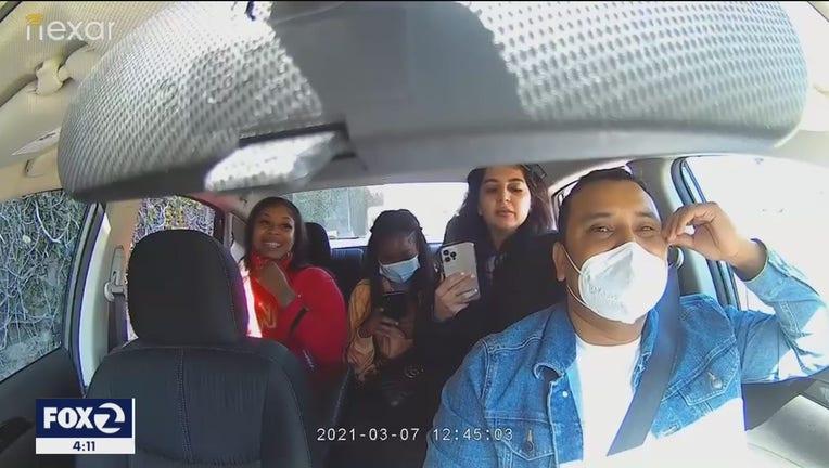 Uber driver attack