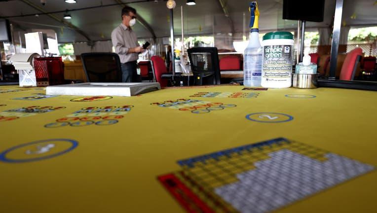 Casino In California Opens Outdoor Gaming