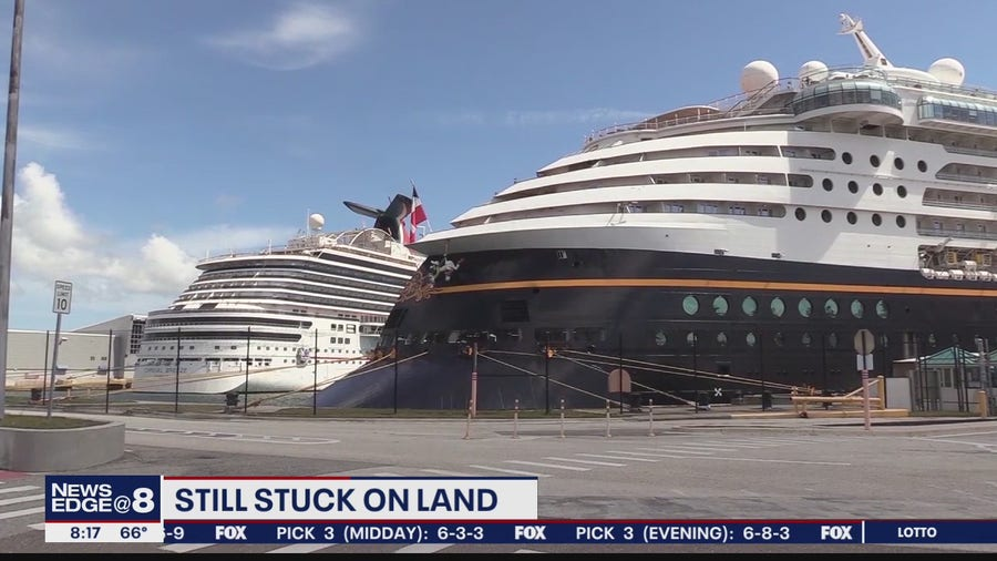 Cruise ship workers facing evictions
