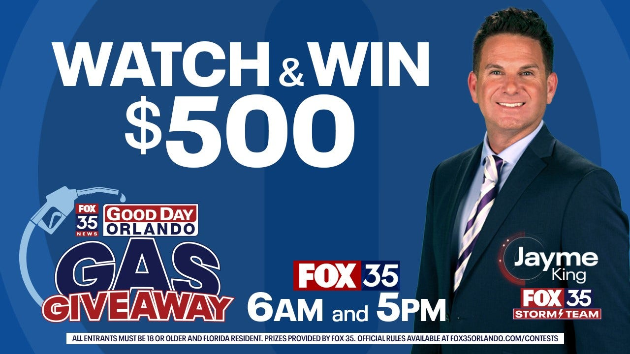 FOX 35 Gas Giveaway