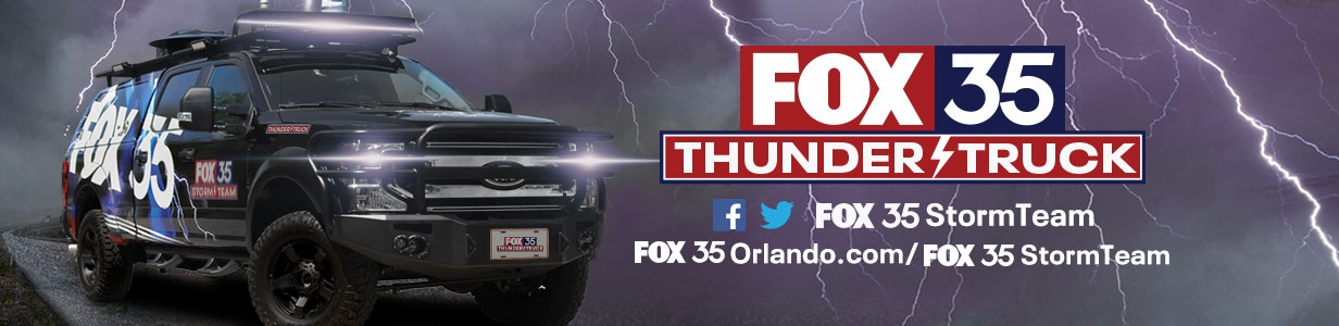 FOX 35 Storm Team Thunder Truck