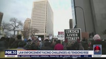 Law enforcement facing challenges as tensions rise