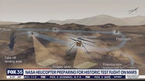 NASA helicopter prepares for historic test flight on Mars