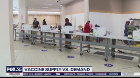 Vaccine demand slowing down in some counties