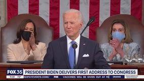 President Biden delivers fist address to Congress