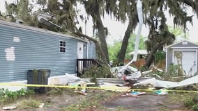 'It's a pretty scary thing': Possible tornado touched down in Polk County