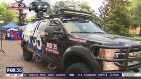 Inside the FOX 35 Storm Team Thunder Truck