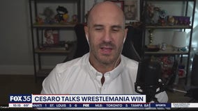 Cesaro talks WrestleMania win