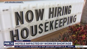 Similar to restaurants, hotels also struggle to find workers