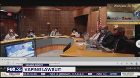 Volusia County joins class action vaping lawsuit