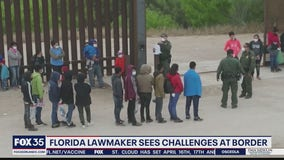 Florida lawmaker sees challenges at border