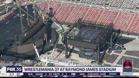 WrestleMania 37 at Raymond James Stadium