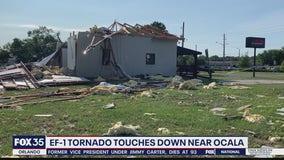 EF-1 tornado touches down near Ocala