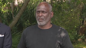 After over 30 years in prison, Crosley Green reunites with his family