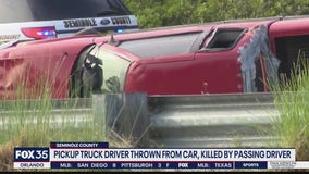 FHP: Man ejected, run over in fatal accident on S.R. 417 in Sanford