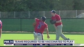 Youth baseball teams required to be vaccinated to play