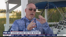 Tavares man rescues boater from capsized boat