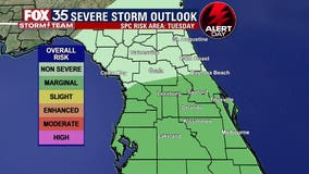 FOX 35 Storm Alert Day: After lull, another round of storms expected Tuesday