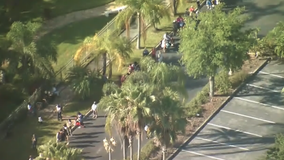 People line up for Holy Land Experience's 2 free admission days