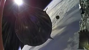 WATCH: SpaceX capsule avoids potential collision with space junk