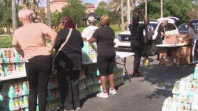 Local church, senator host food distribution event in Orlando