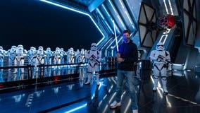 Super Bowl MVP Tom Brady visits Disney's Star Wars: Galaxy's Edge