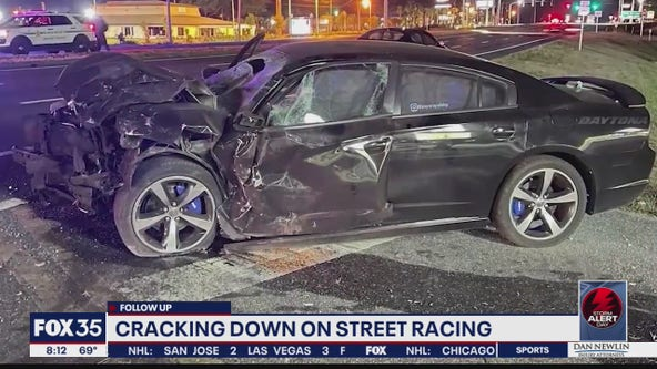 Cracking down on street racing