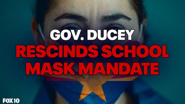 Gov. Doug Ducey rescinds order that directs schools in Arizona to require masks for students