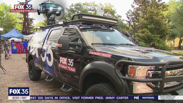 Inside the FOX 35 Storm Team Thunder Truck