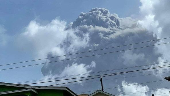 'It's destroying everything': Explosion rocks St. Vincent as volcano keeps erupting