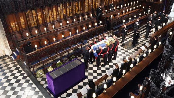 Prince Philip funeral: Husband of Queen Elizabeth II laid to rest