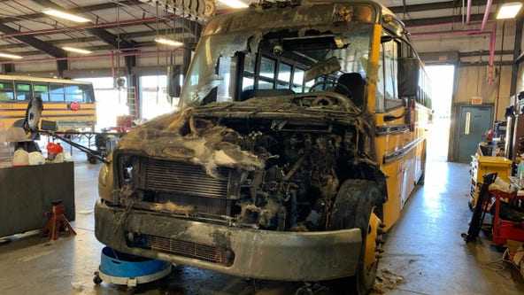 Officials say adults took quick action during Seminole County school bus fire