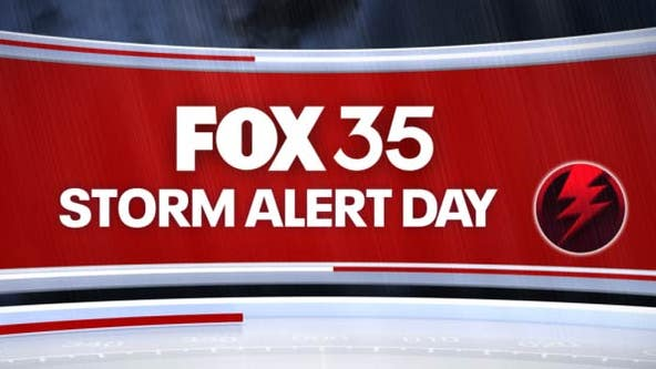 FOX 35 Storm Alert Day: Strong to potentially severe storms to move in