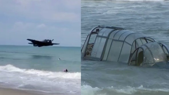 Report: Plane that went down during Cocoa Beach Air Show confirmed to be from WWII