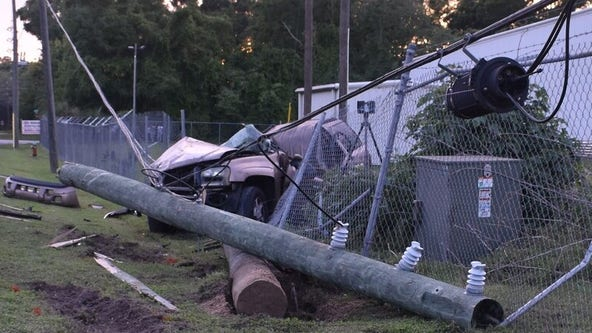Police: 14-year-old driver killed in Ocala crash that split SUV in two