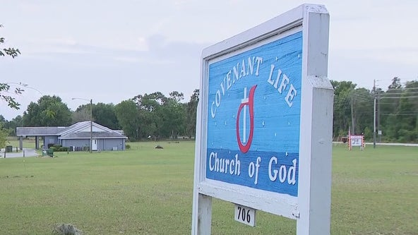 Saturday storms leave Central Florida church damaged