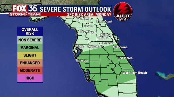 FOX 35 Storm Alert Day: Strong storms move Central Florida