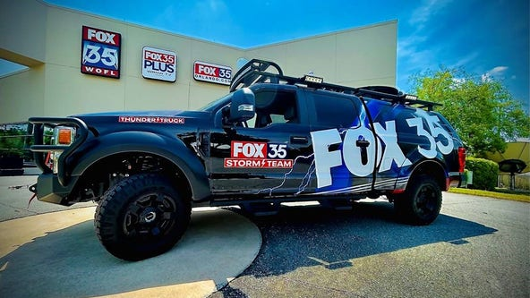 Meet the FOX 35 Storm Team Thunder Truck