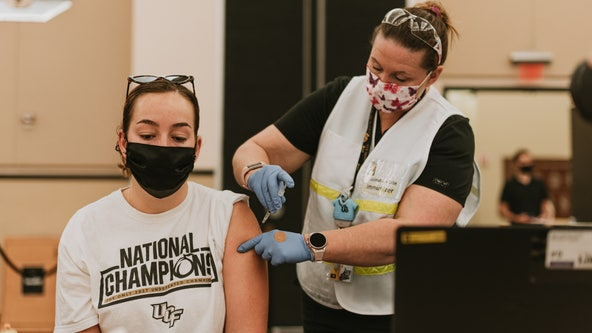 Mobile vaccination unit opens at UCF Downtown